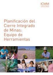 Planificación del Cierre Integrado de Minas: Equipo ... - Sernageomin