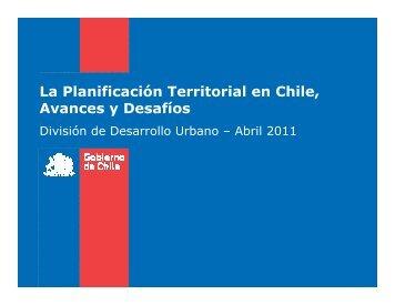 06. la planificación territorial en chile ricardo carvajal