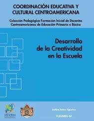 Volumen 44. Desarrollo de la Creatividad en la Escuela - CEDUCAR