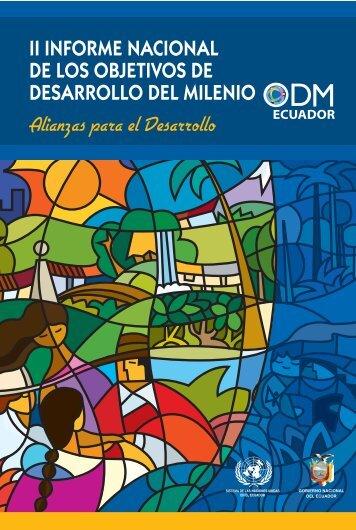 II Informe nacional de los objetivos de Desarrollo del Milenio