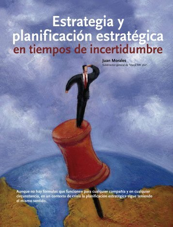 Estrategia y planificación estratégica - EAN