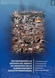 incorporando la gestión del riesgo de desastres en la planificación y ...