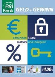 Geld+Gewinn - PSD Bank Berlin-Brandenburg eG