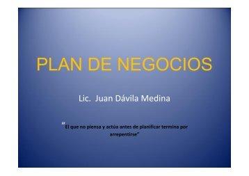 PLAN DE NEGOCIOS - Cofide