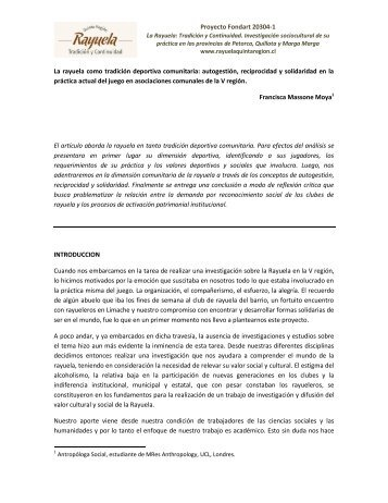 Articulo Dinamicas Sociales (2).pdf - La Rayuela