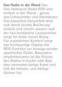 Gira Radio RDS Das Radio in der Wand - Seite 2