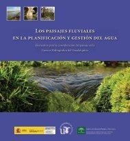Los paisajes fluviales en la planificación y gestión del agua