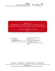 Redalyc. IDENTIDAD ÉTNICA Y NACIONAL EN BOLIVIA A ...
