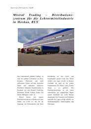 Mistral Trading - PSI Logistics GmbH