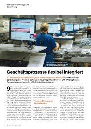 Geschäftsprozesse flexibel integriert - PSI Logistics GmbH