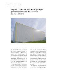 Alfred Kärcher GmbH & Co. KG - PSI Logistics GmbH