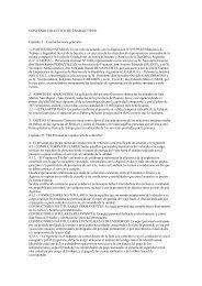 CONVENIO COLECTIVO DE TRABAJO 338/01 ... - El Sindical