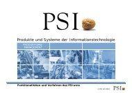 PSIwms - PSI Logistics GmbH