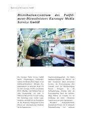 Eurotape Media Service GmbH - PSI Logistics GmbH