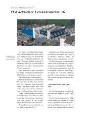 Schweizer Versandzentrum - PSI Logistics GmbH