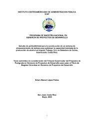 Tesis ICAP - Instituto Centroamericano de Administración Pública