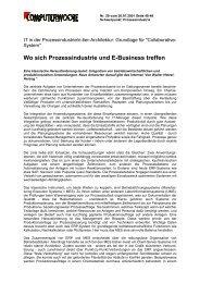 IT in der Prozessindustrie/n-tier-Architektur - PSI Logistics GmbH