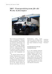 SKF: Transportleitsystem für die Werke Schweinfurt - PSI Logistics ...