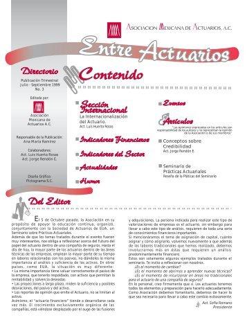 La Internacionalización del Actuario. Conceptos sobre - Asociación ...
