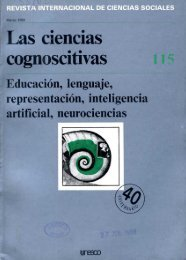 Las neurociencias cognoscitivas - unesdoc - Unesco