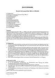 Zuchtordnung der PSK Seite 1 von 24 - Pinscher-Schnauzer-Klub
