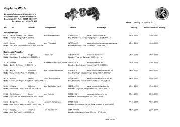 Januar 2011 - Pinscher-Schnauzer-Klub