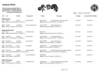 Dezember 2012 - Pinscher-Schnauzer-Klub