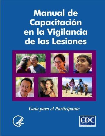Manual de Capacitación en la Vigilancia de las Lesiones