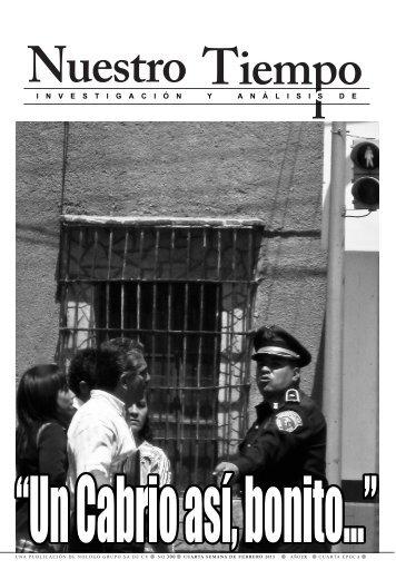 investigaci ó nyan á lisisde - Semanario Nuestro Tiempo