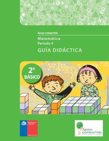 2 Guía Didáctica - P eríodo 4 - Matemática - PAC - Ministerio de ...