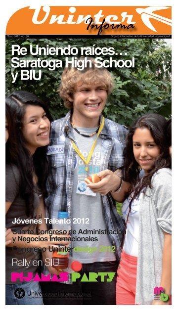 Saratoga High School y BIU - Universidad Internacional