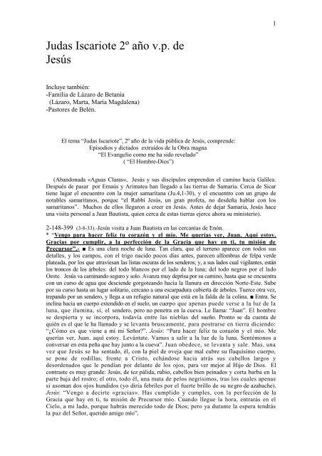 Obra María Valtorta De Judas Difusión Keriot wkXiTPOZu