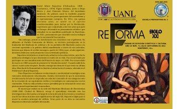 Reforma Número 71 - Universidad Autónoma de Nuevo León