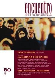 50 LA HABANA POR HACER - Cuba Encuentro