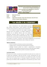 La araña y el ciempiés - José Quintanal Díaz