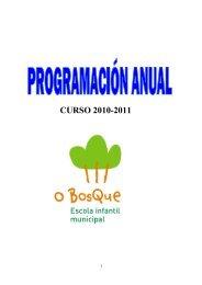 CURSO 2010-2011 - Concello de Ames