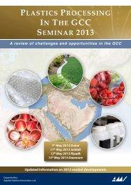 PLASTICS PROCESSING IN THE GCC SEMINAR