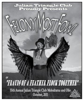 Felony most fowl - Julian Melodrama