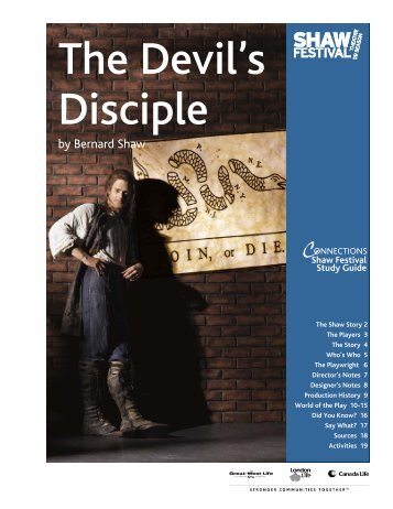 Devil's Disciple - Shaw Festival Theatre