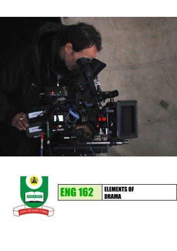 Elements of Drama - National Open University of Nigeria