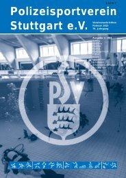 Polizeisportverein Stuttgart e.V. - PSV Stuttgart