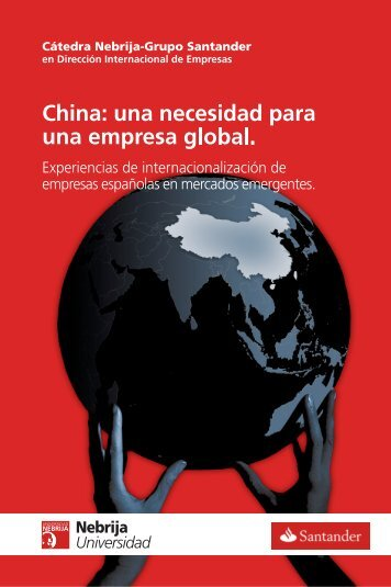 China: una necesidad para - Universidad Antonio de Nebrija