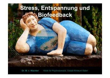 Biofeedback und Entspannung