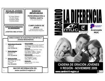Cadena Joven Noviembre 2009 - CENLIMI V Región