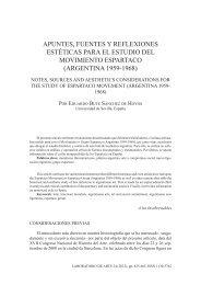 Apuntes, fuentes y reflexiones estéticas para el estudio