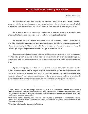 Sexualidad, Paradigmas y Prejuicios - Lecturas y Reflexiones de la ...