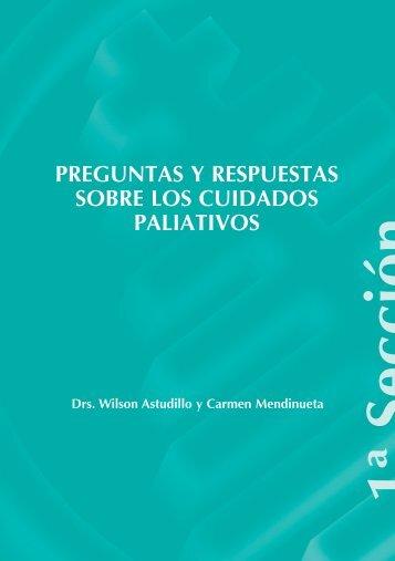 Preguntas y respuestas sobre Paliativos - Paliativos Sin Fronteras