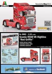"Scania R560 V8 Highline ""Red Griffin"""