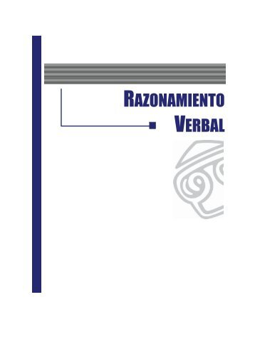 RAZONAMIENTO VERBAL - EGACAL