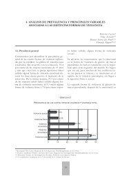 Análisis de prevalencia y principales variables asociadas a - Centro ...
